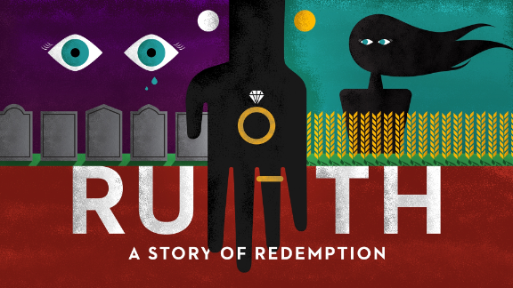 Ruth, A Story of Redemption Message SeriesLogo